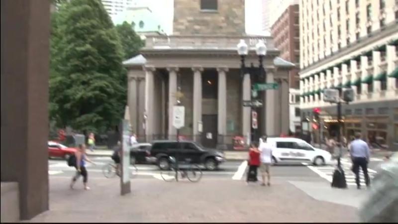 Массачусетс колыбель Американской революции