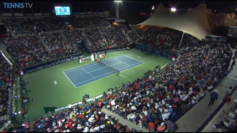 ФЕДЕРЕР-ДЖОКОВИЧ.ДУБАЙ. ФИНАЛ. 2015. Часть 1 (Federer-Djokovic) Dubai. Final.