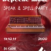 14.10 | Depeche Mode Speak And Spell Party