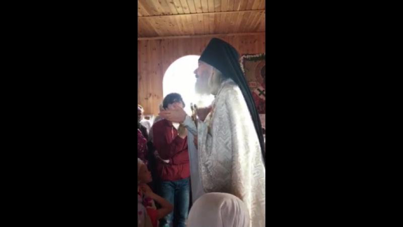 Отец Антоний Проповедь с. Авлы