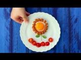 Веселый завтрак: делаем украшения из сосисок