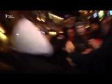 Петербуржцы избивают сектантов Навального 07.10.17