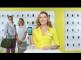 Ирландские танцы стажеров «Евросети» в рекламе Samsung GALAXY S5 mini с LTE