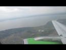 S7 Airbus A319 KRR-DME взлет из Краснодара