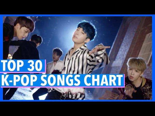 K-VILLES [TOP 30] K-POP SONGS CHART - APRIL 2017 (WEEK 4)