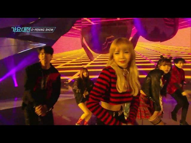 《LIVE VER.》 SAF SBS GAYO DAEJUN Street Dance Team Shinee's Taemin (Opening Show)
