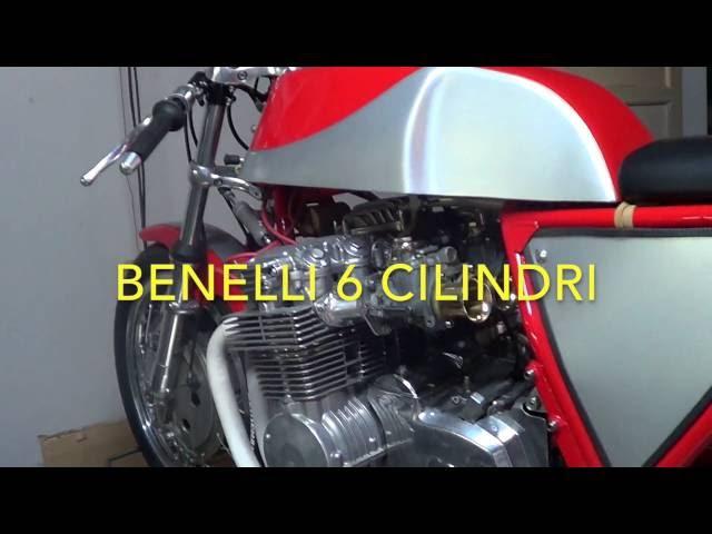 Honda 1000 cbx VS Benelli 6 cilindri sound