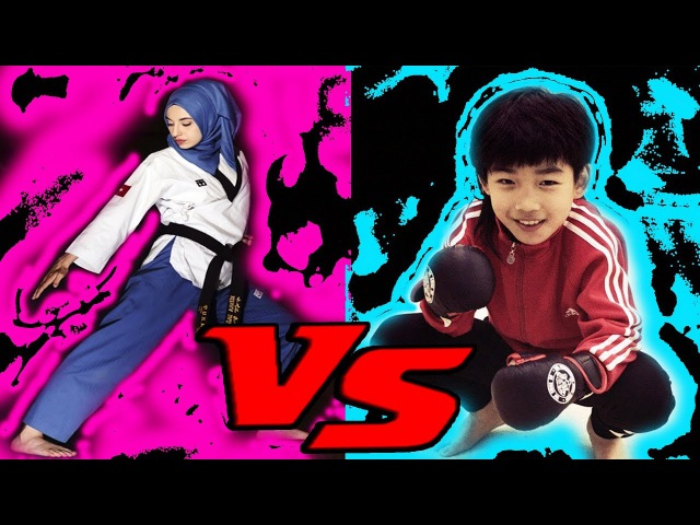 Lin Qiu Nan ( 林秋楠 ) Dragon kick vs Kubra Dagli ( KÜBRA DAĞLI) Taekwondo Kick | Rebooting the world