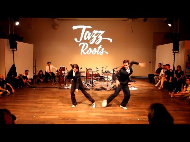 Ksenia Parkhatskaya Daniil Nikulin at Paris Jazz Roots 2017