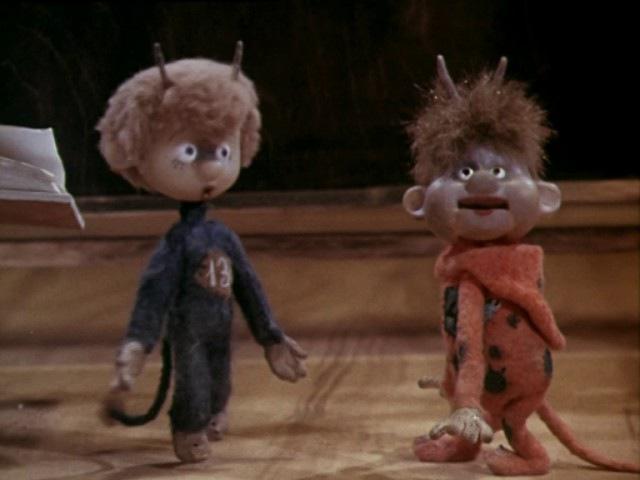 Шиворот навыворот 1981 Кукольный мультик Золотая коллекция