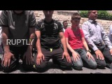 East Jerusalem: Worshippers protest Israeli security measures as Al-Aqsa Mosque reopens
