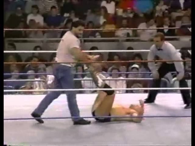 Lance Cassidy vs Brooklyn Brawler Wrestling Challenge Nov 29th, 1992