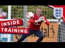 Euro U21 training session with England's Goalkeepers | Inside Training
