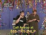 Aesop Rock MTV Spot 3 none shall pass performance