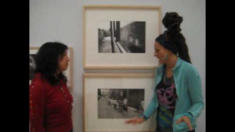 Ari Up - Interview about Bob Marley (Brooklyn Museum's Who Shot Rock and Roll exhibit)