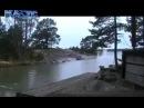 Камера наружного наблюдения зафиксировала удар молнии в водоем. Эффект ошеломляющий