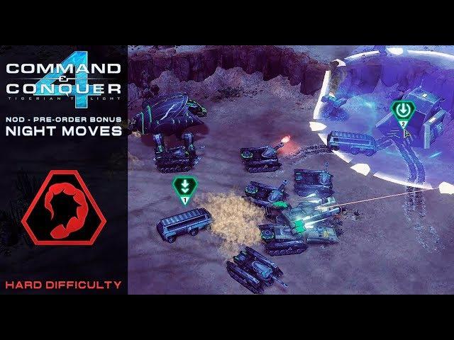 CC 4 Tiberian Twilight - Nod Pre Order Bonus Mission - Night Moves [Hard] 1080p
