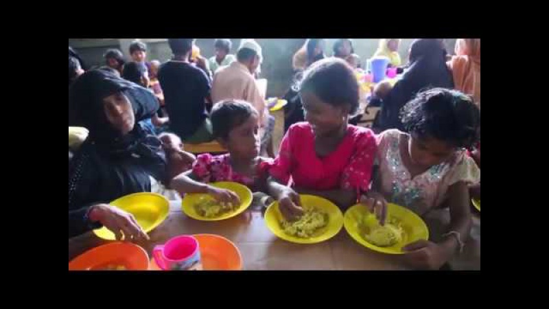 Беженцы из Мьянмы живут в Бангладеш в чудовищных условиях