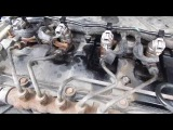 Промывка CRDI сommon rail форсунок ford transit 2.2-2.4 на коленке (лайфаК)
