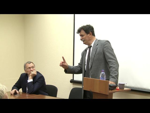 Ю Ю Болдырев отвечает на вопрос о Навальном