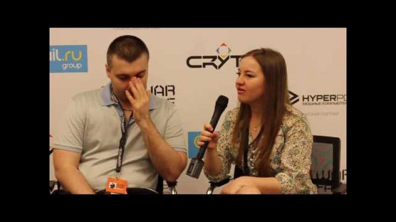 Интервью с Мортидом на Warface Open Cup 2016. Весна