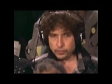 Bob Dylan feeling awkward recording