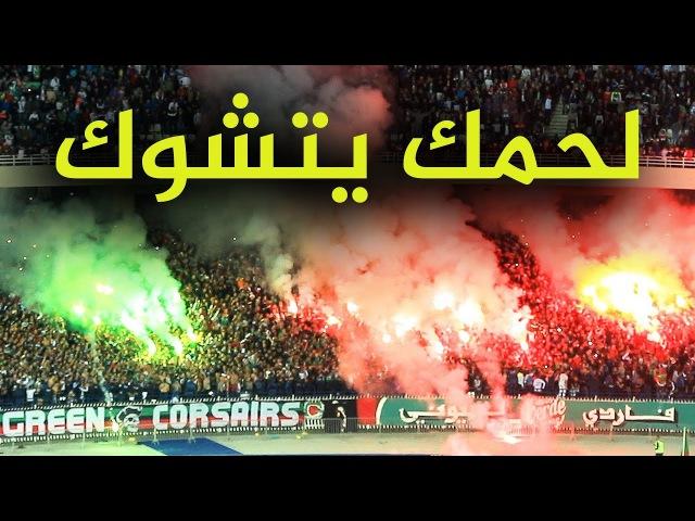 Энтузиазм болельщиков на алжирских стадионах MCA D'alger