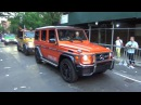 LGBT PRIDE PARADE 2017 NYC - MERCEDES BENZ COMPANY G-CLASS SUV PRESENTATION AT LGBT PRIDE MARCH NYC