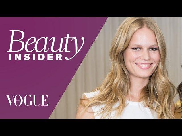 Anna Ewers entrega todos os detalhes da sua rotina de beleza Beauty Insider