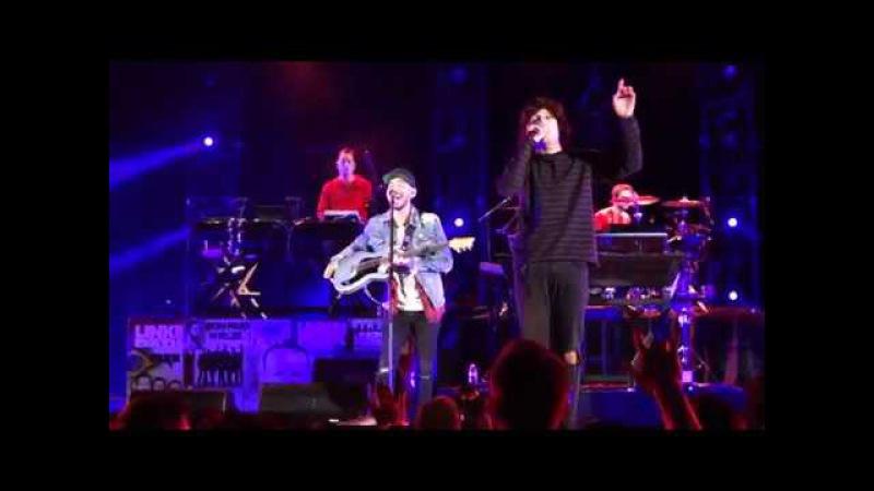 Linkin Park Crawling feat. Oli Sykes from BMTH Zedd @ Hollywood Bowl LA 10 27 2017