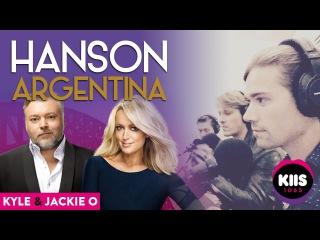 [AUDIO] Hanson with Kyle and Jackie O (2017) - KIIS FM 106.5 - Sydney, AUS