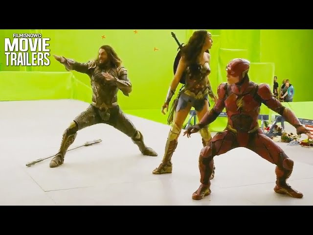 JUSTICE LEAGUE   Go behind the scenes with this end of shoot featurette