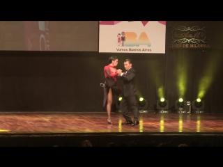 Mundial de Tango 2017 Final ESCENARIO Julian Catao, Maria Sanchez_17