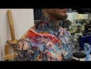Цветная татуировка Веном и Карнаж Venom and Carnage tattoo Тату студия Дом Элит Тату Tattoo Studio Moscow