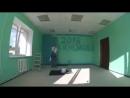 Блэд Нэвэльный - надпись на стене на покраску