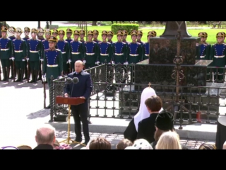 Открытие памятника Сергею Романову