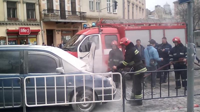 Пожежа на Галицькій