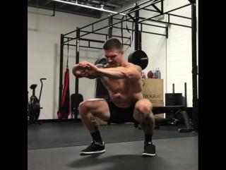 Жёсткая тренировка ног 💪