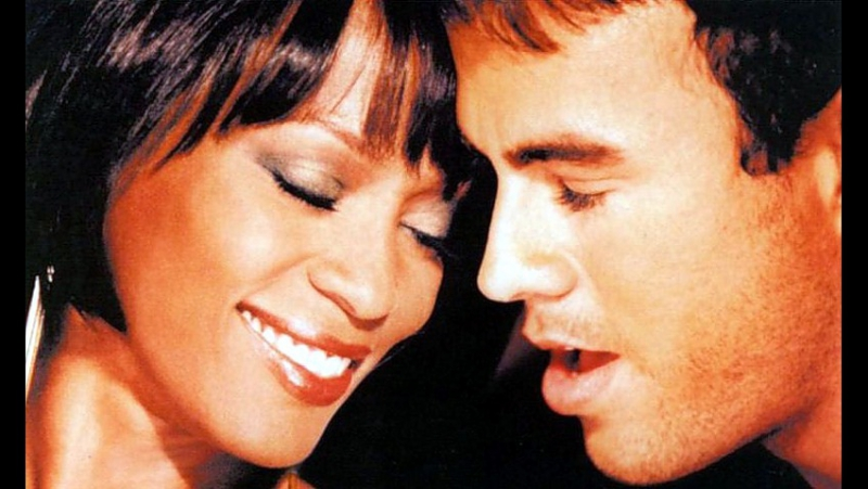 WHITNEY HOUSTON ENRIQUE IGLESIAS ♥ Could I Have This Kiss Forever