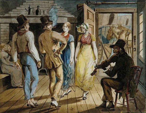 Американский художник John Lewis Krimmel (1787 – 1821)