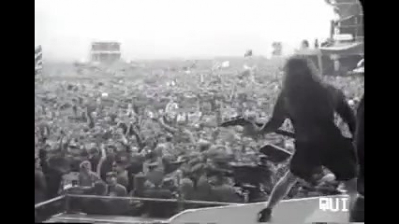 PANTERA - Cowboys From Hell - Live Moscow (Aug. of 1991, Tushino, Monsters of Rock Fest.)