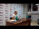 Сергей Шнуров. Пресс-конференция перед концертом Ленинграда в Екатеринбурге 21 октября 2017