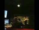 Гарри Шам младший в студии