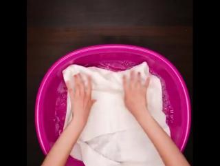 Эффективные способы стирки белого белья.
