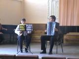 Johann Sebastian Bach - Air On A G String (баян и домра)
