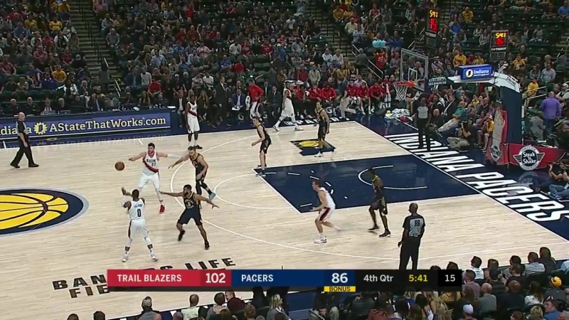 NBA 2017-2018 / RS / 20.10.2017 / Portland Trail Blazers vs Indiana Pacers EN