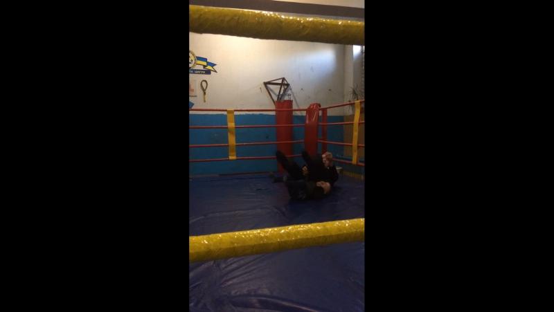 Первый раз на ринге