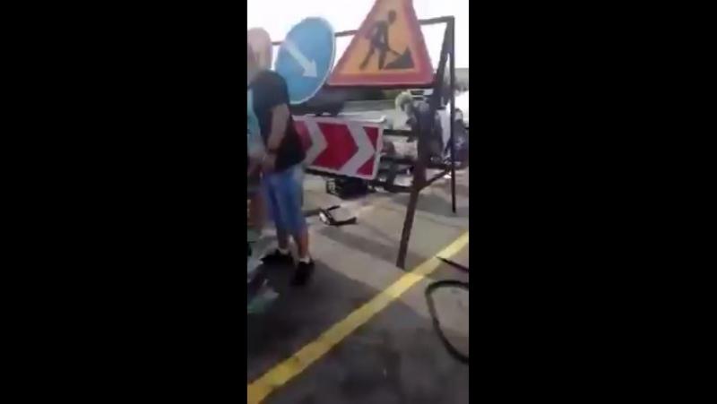 Авария с машиной ГИБДД , Ростовская область, г. Каменск-Шахтинский, лиховской мо
