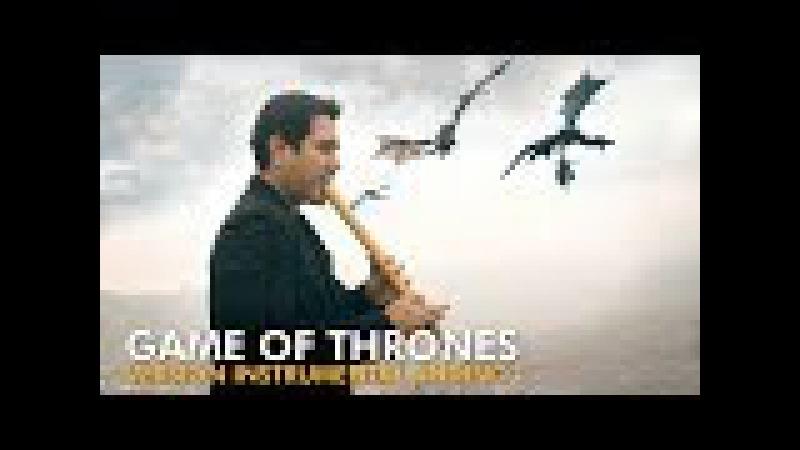 Sergio Checho Cuadros - GAME OF THRONES en Quena y Zampoña (Instrumental Andino)