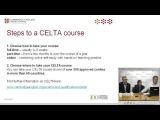 Webinar: The ultimate guide to CELTA (QA)